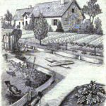 Der Garten am Haus