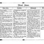 Gartenkalender für den Monat Januar von Carl Umlauff 1862 bestehend aus Blumenkultur, Gemüsebau, Obstbau und Weinbau