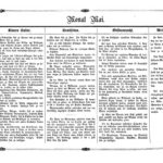 Gartenkalender für den Monat Mai von Carl Umlauff 1862 bestehend aus Blumenkultur, Gemüsebau, Obstbau und Weinbau