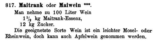 maibowle waldmeisterbowle Maitrank rezept